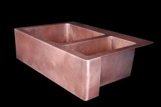 KD33229 6040HDWAX Copper Sink